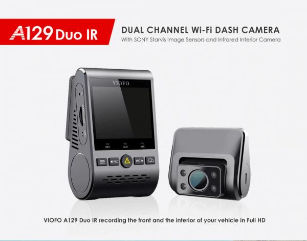 VIOFO A129 DUO IR Car DashCam