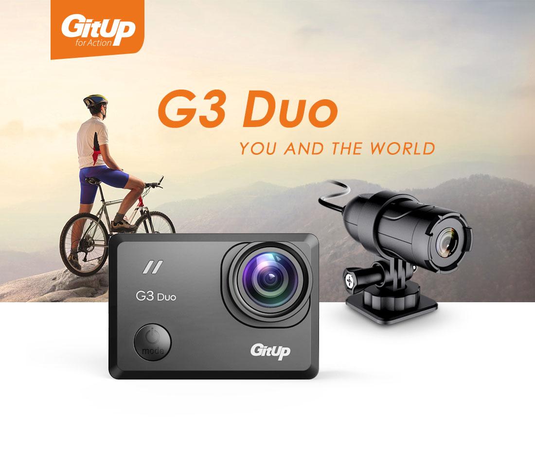 Viofo Gitup G3 Duo Action Camera