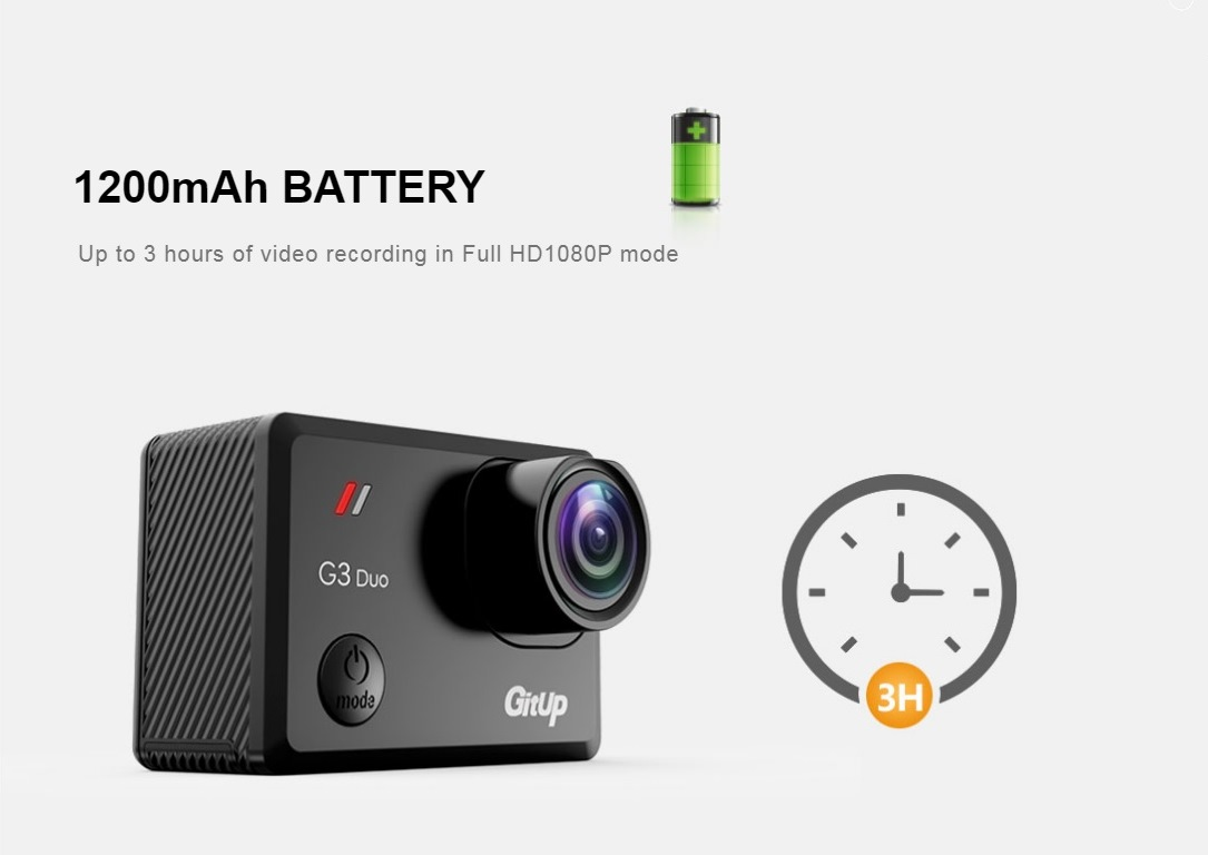 Viofo Gitup G3 Duo Pro Action Camera
