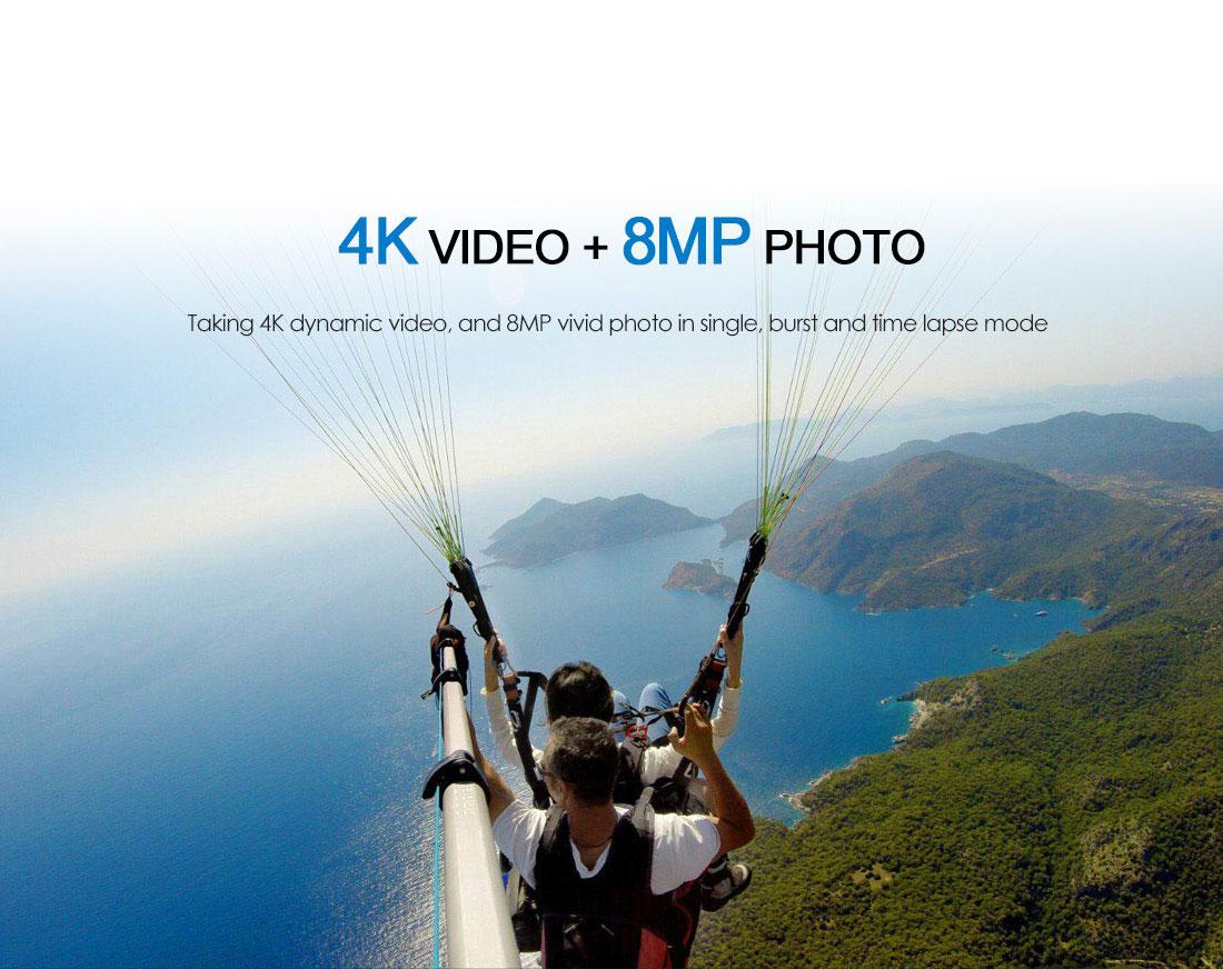 Viofo gitup f1 4k WiFi Action Camera